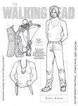Walking Dead paper doll Daryl Dixon