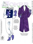 Joker paper doll