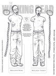 Walking Dead paper doll